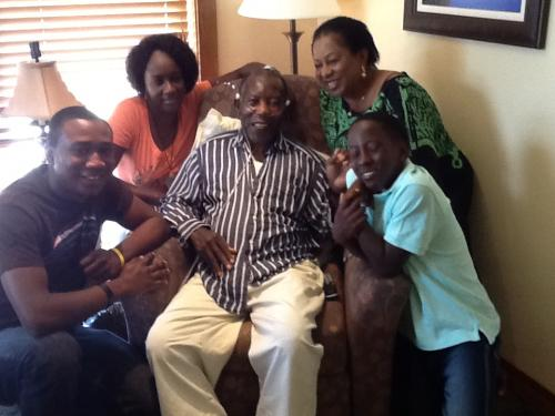 The Legacy of Adure and Onyima Obioha. Mazi Kosoko surrounded by Sister, Son, Sister Inlaw and Gradson