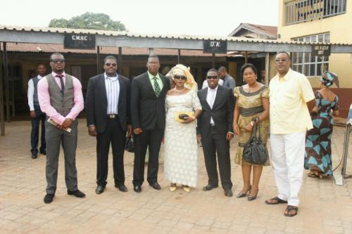 Dr. Ikechukwu Iphie family and friends